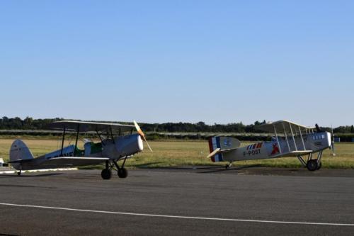 Avec le Breguet XIV F-POST